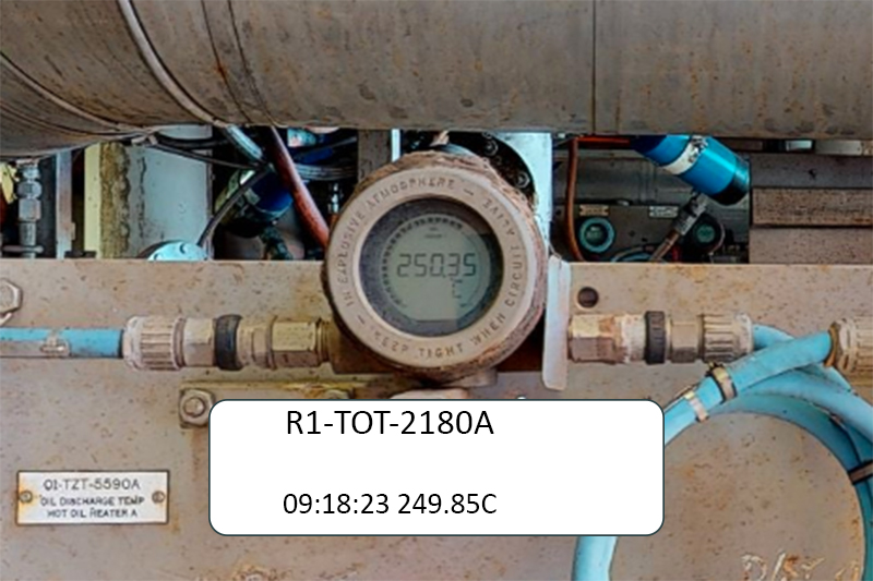 Live Plant Data from any sensor with an IP interface